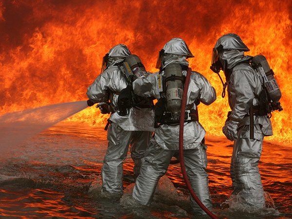 ردیابی آتش نشان ها