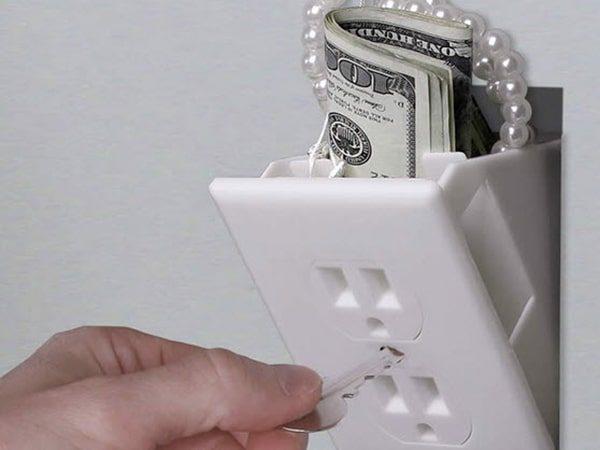 پنهان کردن لوازم ارزشمند در نقاط کور منزل