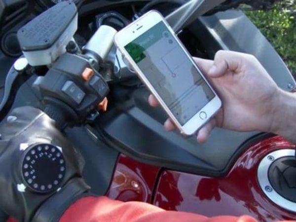 پیگیری موتور سیکلت سرقتی با ردیاب