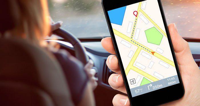 ردباب برای مسیریابی خودرو