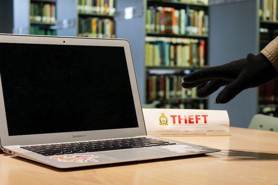 دزدی لب تاپ