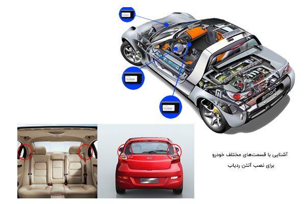 تقویت ردیاب خودرو با نصب آنتن GPS و خرید جی پی اس خودرو